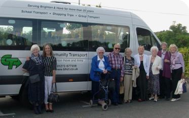 Brighton & Hove Community Transport Minibus Hire