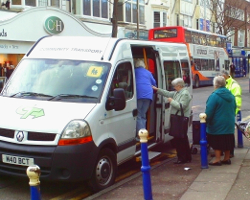 Brighton & Hove Community Transport Minibus Hire
